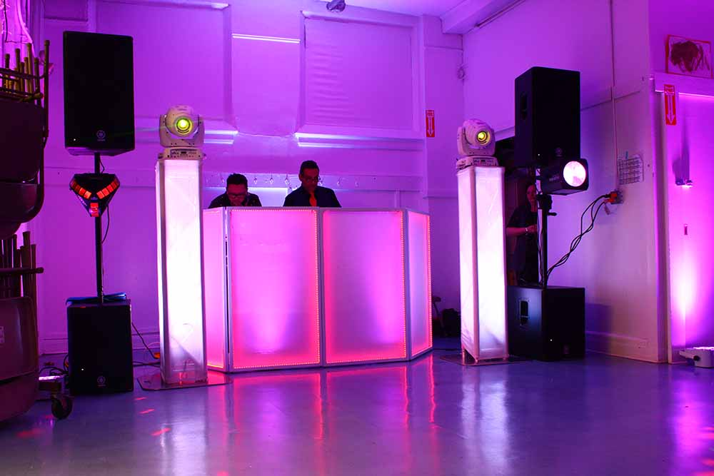 Professional DJs, lighting, and special effects, serving New Jersey, New York, Connecticut, Pennsylvania.